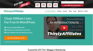 ThirstyAffiliates Plugin Black Friday and Cyber Monday Sale